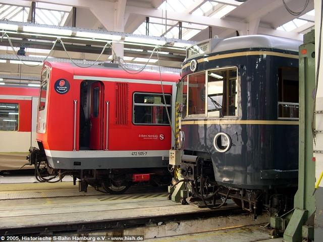 Generationen nebeneinander. Faktisch liegen zwischen den beiden Fahrzeugen aber nur rund 15 Jahre. Im Vergleich zu den 474/874 hat die Technik beider Züge auch noch entsprechende Ähnlichkeiten. Leistungselektronik wird man eines Tages sicher nicht durch handwerkliche Arbeit museal am Leben halten können.