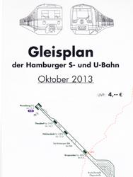 Gleisplan der Hamburger U- & S-Bahn