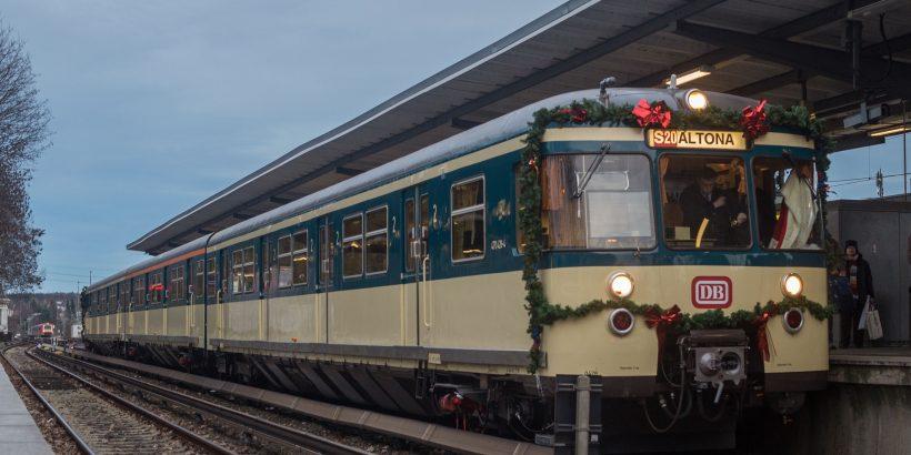 Weihnachtszug in Bergedorf, 2015