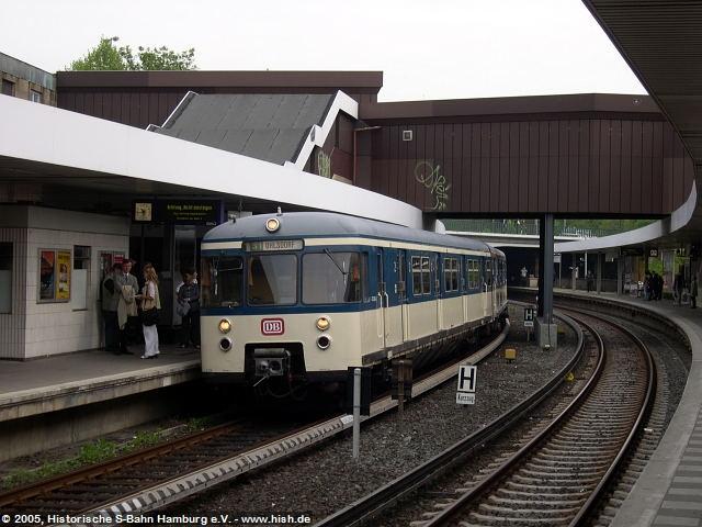 Im Bahnhof Berliner Tor auf Gleis 2 wurde der Zug in Anwesenheit des Sprechers der Geschäftsführung der S-Bahn Hamburg GmbH, der Presse vorgestellt.