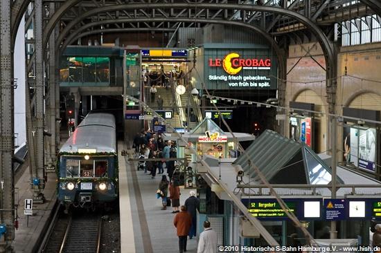 12. Dezember 2009, Hauptbahnhof, Weihnachtszug 2009