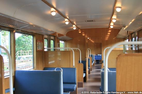Fahrgastraum 2. Klasse, mit Gastronomiebereich